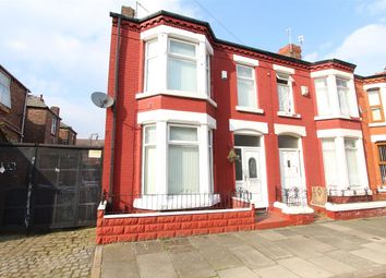 Thumbnail 3 bed end terrace house for sale in Hendon Road, Kensington, Liverpool