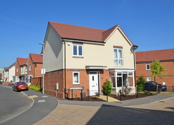 Thumbnail 4 bedroom detached house for sale in Levy Close, Rounds Gardens, Rugby