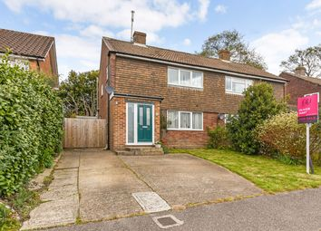 Thumbnail 3 bed semi-detached house for sale in The Meadow, Copthorne, Crawley, West Sussex
