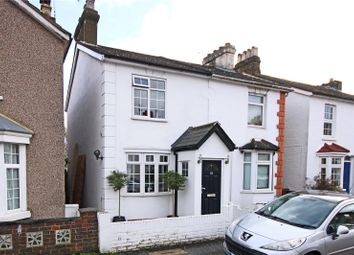 Thumbnail 2 bed semi-detached house for sale in New Road, Staines-Upon-Thames, Surrey