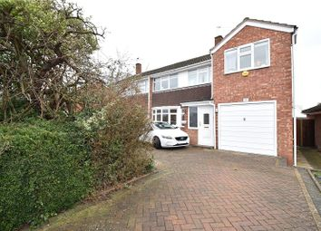 Thumbnail 4 bed semi-detached house for sale in Shirley Road, Droitwich Spa, Worcestershire