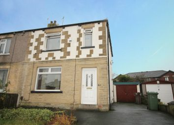 Thumbnail 3 bed semi-detached house for sale in Fenby Avenue, Bradford, West Yorkshire