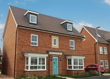 "Thumbnail 5 bed detached house for sale in ""Warwick"" at Carters Lane, Kiln Farm, Milton Keynes"