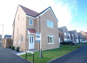 Thumbnail 4 bed detached house for sale in Swinley Crescent, Ashington