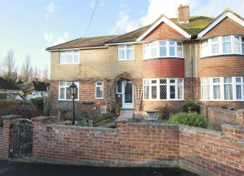 Thumbnail 4 bed semi-detached house for sale in Hillside, Harefield