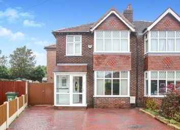 Thumbnail 4 bed semi-detached house for sale in Adswood Old Hall Road, Cheadle Hulme, Cheadle, Cheshire