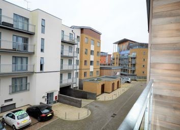 Thumbnail 1 bed flat to rent in Quayside Drive, Colchester