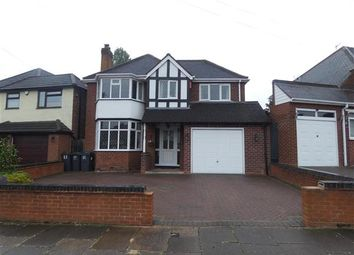 Thumbnail 3 bed detached house for sale in Manor House Lane, Yardley, Birmingham