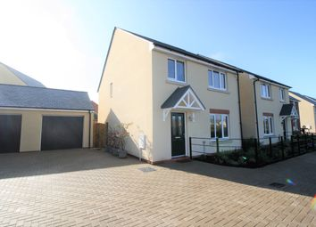 Thumbnail 4 bed detached house for sale in Crabtree Close, Cranbrook, Exeter