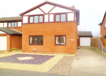 Thumbnail 4 bed detached house for sale in The Links, Wrexham