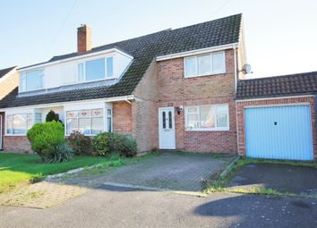 Thumbnail 4 bed semi-detached house for sale in Oaklands Way, Fareham