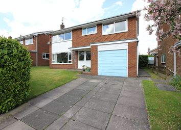 Thumbnail 4 bed detached house for sale in Adams Grove, Leek, Staffordshire