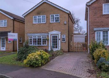 Thumbnail 3 bed detached house for sale in Pear Tree Close, Castle Donington, Derby, Leicestershire