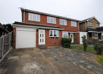 Thumbnail 4 bed semi-detached house for sale in Hambro Avenue, Rayleigh