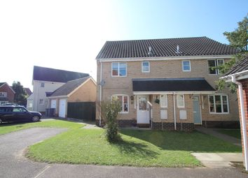 Thumbnail 3 bed semi-detached house for sale in Borrett Place, Woodbridge