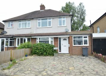 Thumbnail 3 bed semi-detached house for sale in The Crossways, Coulsdon