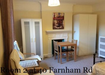 Thumbnail Room to rent in Room 2, 40A Farnham Road, Guildford