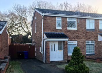 Thumbnail 2 bed semi-detached house for sale in Grassholme, Wilnecote, Tamworth