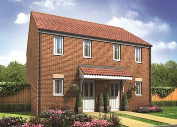 "Thumbnail 2 bed semi-detached house for sale in ""The Morden"" at Peterborough Road, Farcet, Peterborough"