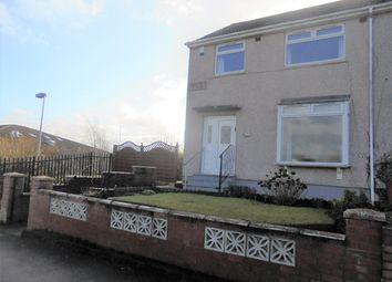 Thumbnail 3 bed end terrace house for sale in Neidpath Avenue, Coatbridge