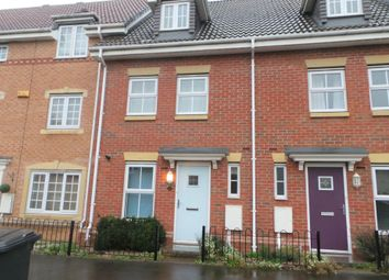 Thumbnail 3 bed terraced house to rent in Tiber Road, North Hykeham, Lincoln