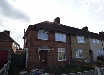 Thumbnail 1 bed flat to rent in Wood Lane, Dagenham, Essex