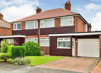 Thumbnail 3 bed semi-detached house for sale in Heathfield Close, Sale, Greater Manchester