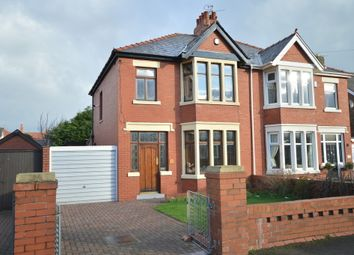 Thumbnail 3 bedroom semi-detached house to rent in St. Lukes Road, Blackpool