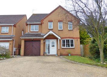 Thumbnail 4 bed detached house for sale in Ilex Close, Hampton Hargate, Peterborough