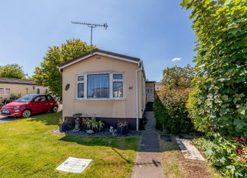Thumbnail 2 bed mobile/park home for sale in Western Avenue, Penton Park, Chertsey