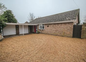 Thumbnail 4 bed detached bungalow for sale in Straight Furlong, Pymoor, Ely