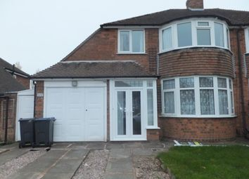Thumbnail 3 bed semi-detached house to rent in Halton Road, Boldmere