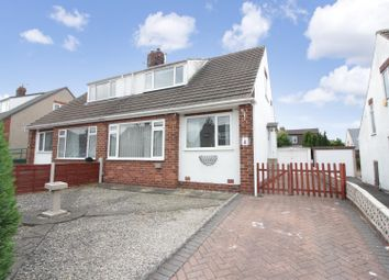 Thumbnail 3 bedroom semi-detached bungalow for sale in Whitecliffe Rise, Swillington, Leeds