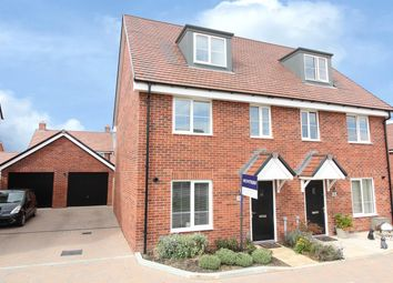 3 bed semi-detached house for sale in Blaker Close, Folkestone, Kent CT20