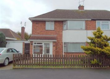 Thumbnail 3 bed semi-detached house for sale in Eastway Road, Wigston, Leicestershire