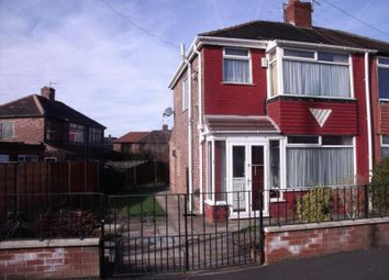 Thumbnail 3 bed semi-detached house to rent in Gibson Avenue, Abbey Hey, Manchester