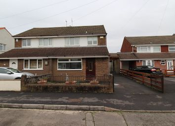 Thumbnail 3 bed semi-detached house to rent in Atkins Close, Stockwood, Bristol
