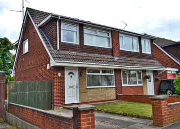 Thumbnail 3 bed semi-detached house for sale in Pelican Close, Crewe