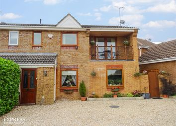 Thumbnail 4 bed semi-detached house for sale in Elm Close, Lyneham, Chippenham, Wiltshire