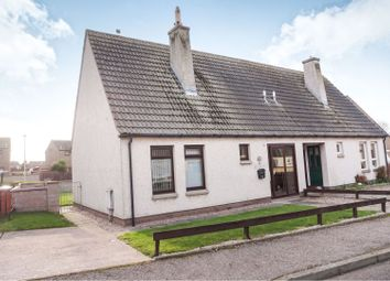 Thumbnail 2 bed semi-detached house for sale in Cairnfield Crescent, Buckie