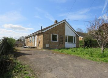 Thumbnail 3 bed detached bungalow for sale in Oates Lane, Sutton, Ely