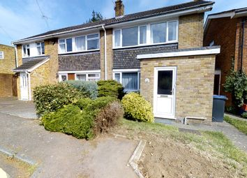 Thumbnail 3 bed semi-detached house for sale in Mead Way, Canterbury