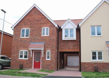 Thumbnail 4 bedroom link-detached house for sale in West Row, Bury St. Edmunds, Suffolk