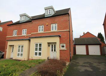 Thumbnail 4 bed semi-detached house for sale in Charlotte Road, Edgbaston, Birmingham