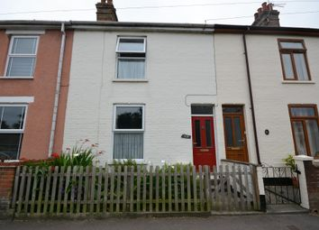 Thumbnail 3 bed terraced house for sale in Stradbroke Road, Pakefield, Lowestoft
