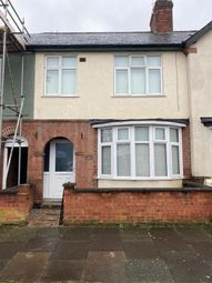 Thumbnail 3 bed terraced house for sale in Erith Road, Leicester