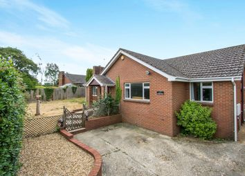 Thumbnail 4 bedroom detached bungalow for sale in South Road, Corfe Mullen, Wimborne