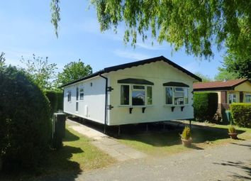 Thumbnail 2 bedroom mobile/park home for sale in Wallow Lane, Great Bricett, Ipswich