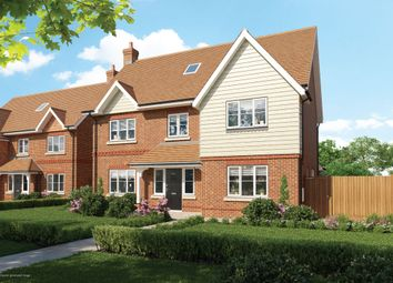 Thumbnail 5 bedroom detached house for sale in Copsewood, Oakwood Road, Horley, Surrey