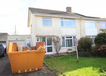 Thumbnail 3 bed semi-detached house for sale in Quantock Close, North Petherton, Bridgwater